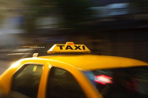 Vervoer met de taxi